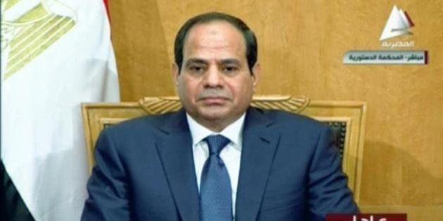Egypte: le maréchal Sissi a prêté