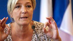 Marine Le Pen condamne la