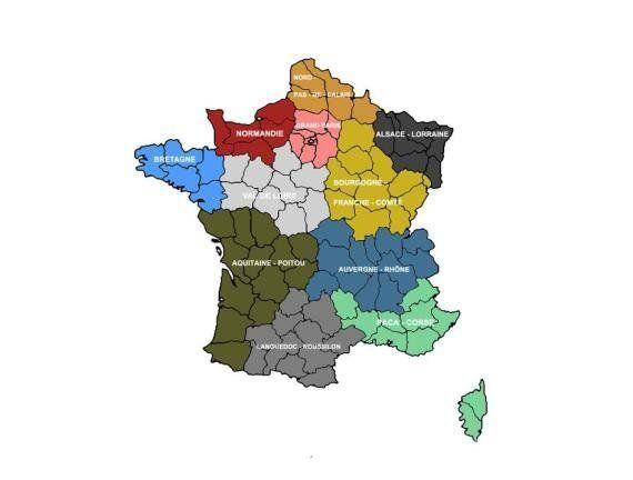 Réforme territoriale: les Français y sont favorables... mais pas chez