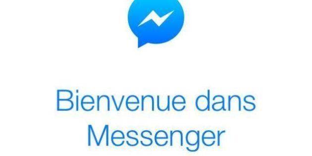 Facebook sur mobile: une application séparée pour envoyer des