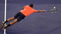 Le point de folie marqué par Tsonga contre