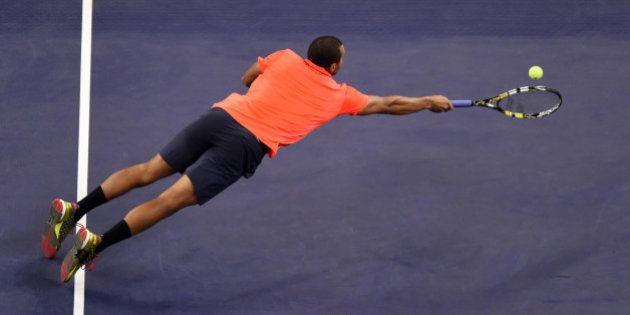 VIDÉO. Tsonga marque un point de folie face à Nadal (et se qualifie pour la finale des Masters 1000 de