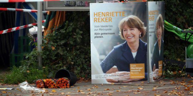 Cologne: une femme politique allemande poignardée pour son soutien aux