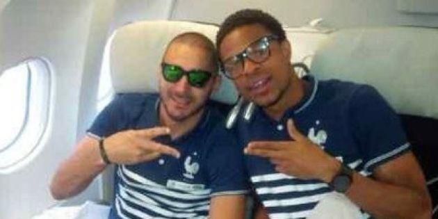 Départ de l'équipe de France pour le Brésil et la Coupe du monde 2014 depuis