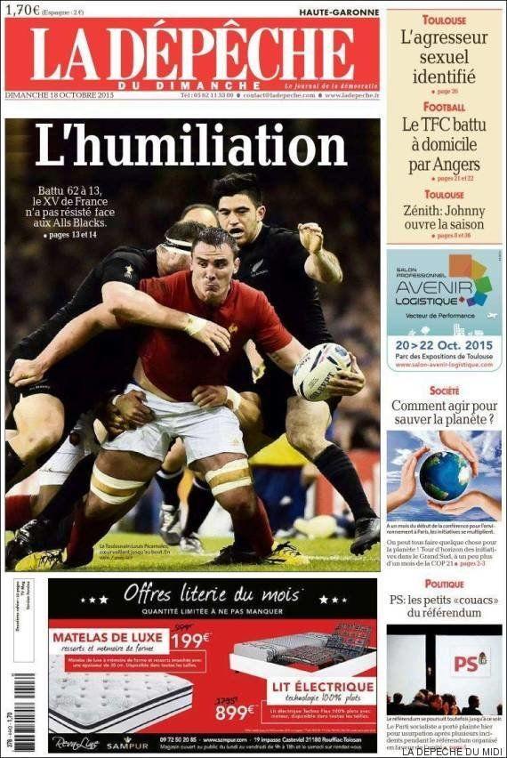 France - Nouvelle-Zélande : les réactions après la défaite des