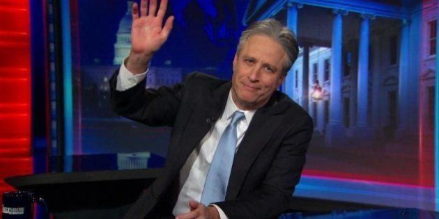 Jon Stewart fait ses adieux à l'émission culte le