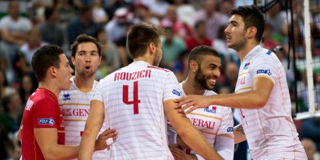 Euro de volley-ball: la France bat la Slovénie et remporte son premier titre