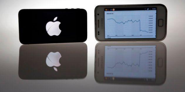Galaxy S5: Ces smartphones qui s'échangent comme des actions sur les