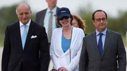 Hollande accueille l'ex-otage Isabelle Prime à son retour en