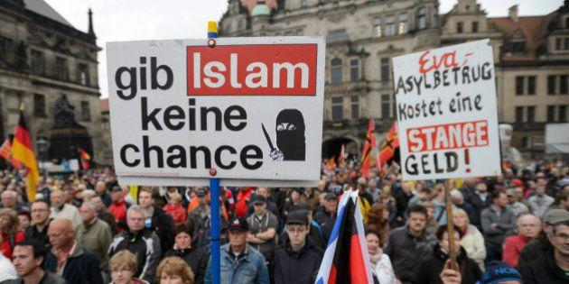 Pegida: pour sa première élection, le mouvement anti-islam allemand obtient près de 10% des voix à