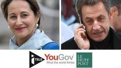 Royal bondit, Sarkozy