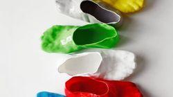 Des chaussures inspirées de... la fondue