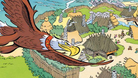Une case d'Astérix décortiquée par les