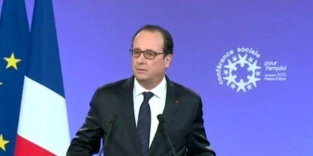 Conférence sociale: les annonces de François Hollande et Manuel