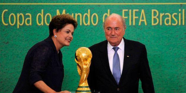 Coupe du monde: à J-1, le message de Dilma Rousseff aux 600.000 étrangers affluant au