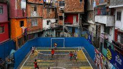 L'autre football brésilien, celui des favelas de