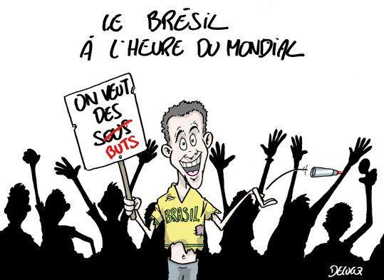 Mondial: le Brésil va-t-il se mettre à la