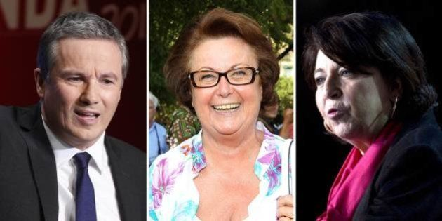 Européennes 2014 : Dupont-Aignan, Boutin, Lepage... les outsiders qui veulent peser le 25