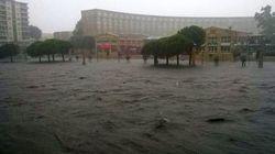 Alerte rouge et inondations dans le sud de la