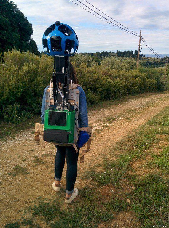 Street View : On a testé le sac à dos