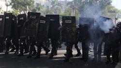 Brésil: des lacrymos pour disperser les