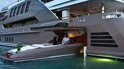 Le premier yacht avec