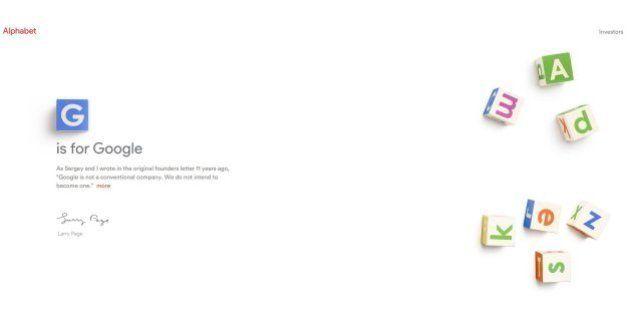 Alphabet: le fondateur de Google Larry Page annonce une refondation du géant du