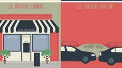 Les 10 différences entre Paris et