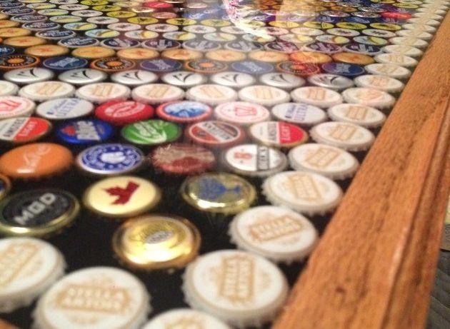 PHOTOS. Vous avez bu trop de bières? Recyclez vos capsules et faites-en une