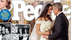 Les premières photos du mariage de George
