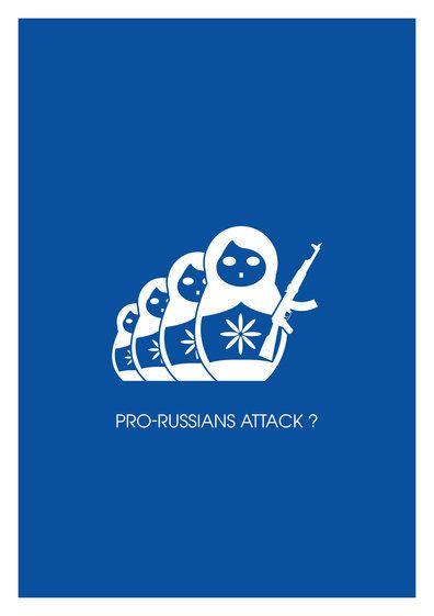 Attaques d'hommes armés pro-russes en