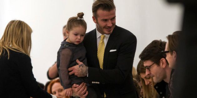 David Beckham n'accepte pas qu'on critique l'éducation de sa fille