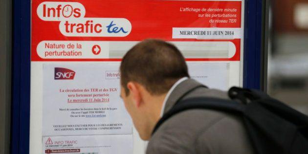 Grève SNCF le 13 juin 2014: une circulation ferroviaire