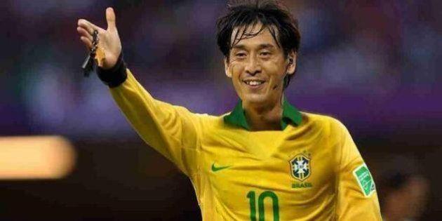 Brésil - Croatie: l'arbitre japonais Yuichi Nishimura, première star de la Coupe du monde