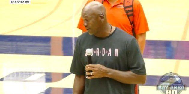 VIDÉO. Si Michael Jordan n'avait pas été basketteur... il aurait été présentateur