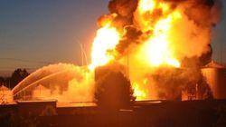 Un gigantesque incendie fait plusieurs morts en