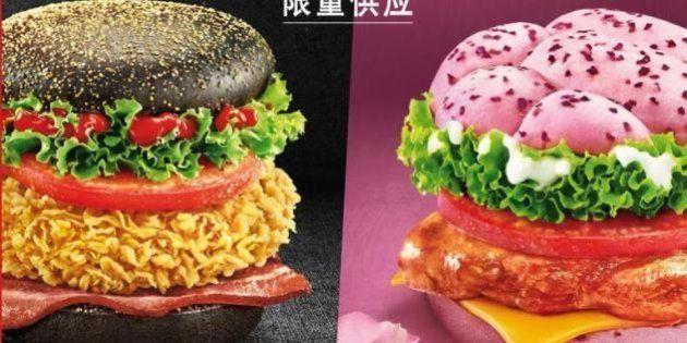 KFC inscrit un burger rose au menu de ses restaurants en