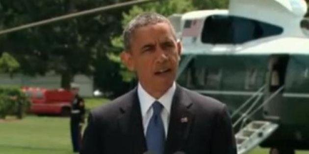 Irak: les Etats-Unis ne renverront pas de troupes au sol et examinent d'autres options selon Barack
