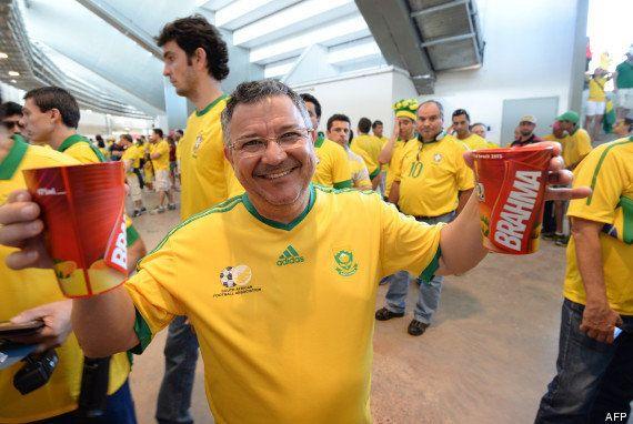 Coupe du monde 2014 : l'alcool force l'entrée des stades