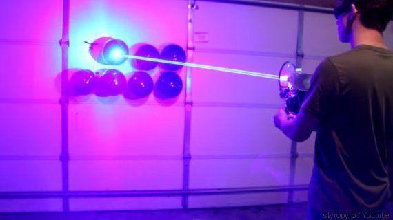 VIDÉO. Pistolet laser : un jeune Américain construit une vraie arme