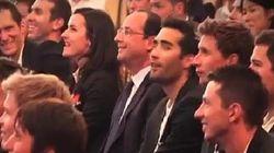 Hollande aussi a regardé (et apprécié) la victoire des
