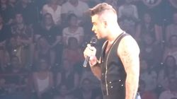 Ce moment gênant où Robbie Williams drague une