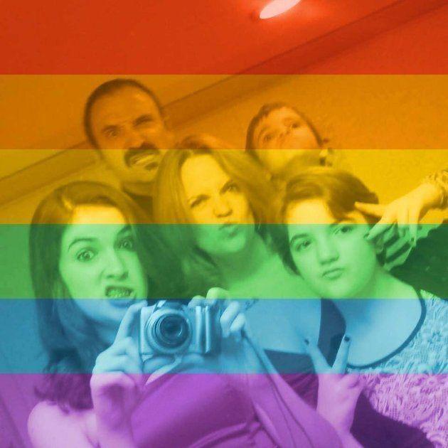 PHOTOS. Homophobie: la réponse intelligente d'une mère face à un acte de