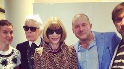 L'Apple Watch défile à Paris avec Lagerfeld et