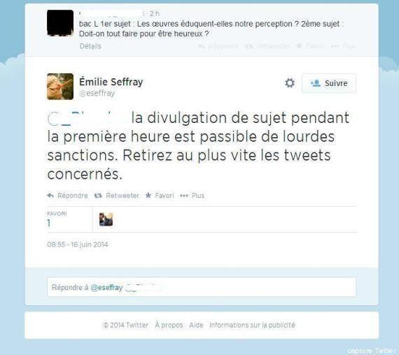 Fuites au bac de philo: suite à des soupçons après des tweets, le ministère de l'Education ouvre une