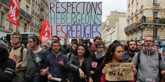 Migrants à Paris: un