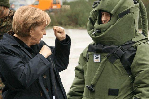 Cette photo d'Angela Merkel vaut le