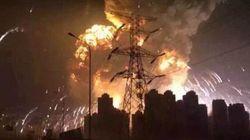 Une impressionnante explosion secoue la ville de Tianjin en