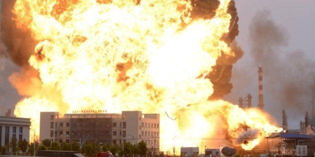 VIDÉOS. Chine: avant l'explosion de Tianjin, déjà deux précédents dans le pays cette