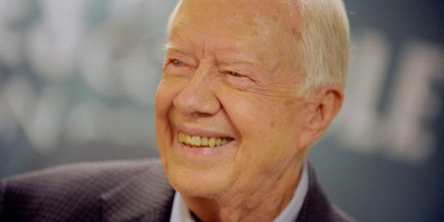 Photo by: Dennis Van Tine/STAR MAX/IPx 7/7/15 Jimmy Carter at a signing for his new book, A Full Life....